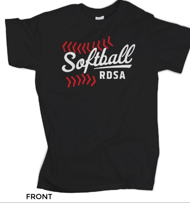 Official Ruston Dixie Softball T-Shirt